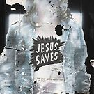 'Jesus saves' by Nejlah Shaddouh