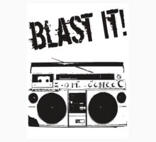 blast it! shirt by Jake Tragedy