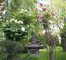 Pagoda Peonies by MarianBendeth