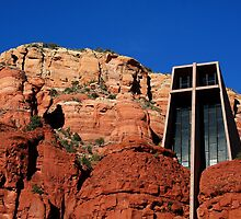 Chapel of the Holy Cross by Maurie Alderson