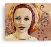 Mascara Canvas Print