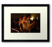 It's time to play the music, it's time to light the lights... Framed Print