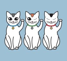 Three Lucky Cats by nekineko