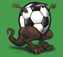 Soccer Rex Pocket Tee by Kevin Middleton