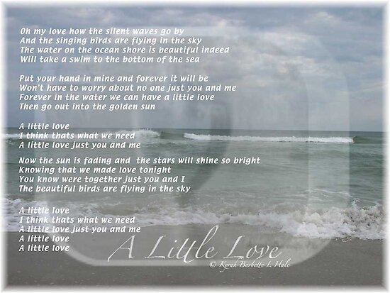A Little Love by DreamCatcher/ Kyrah Barbette L Hale