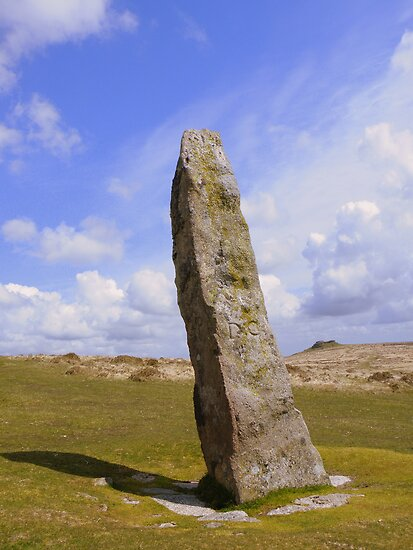 Dartmoor: The Longstone on Shovel Down by Rob Parsons
