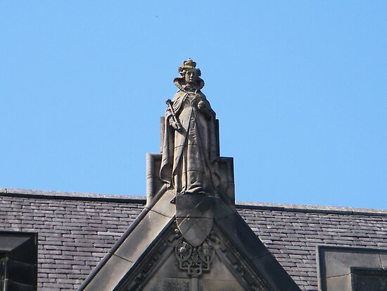 Statue of Mary Queen of Scots by ElsT