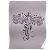 Dragon-fly Poster