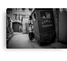 Beijing B&W IV Canvas Print