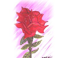 Red Rose by JoMitch