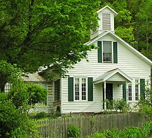 Schoolhouse Home by CountryVistas