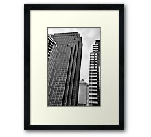 Philly downtown style Framed Print