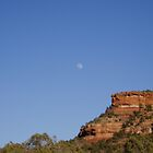 Moon Over Sedona by staroflife