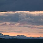 Sundown Okotoks by Judy Grant