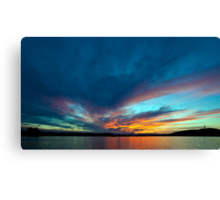 Sunset at the Capital II Canvas Print
