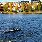 Fishing on Vltava by pellinni