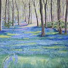 Purbeck Bluebells by Annie Lovelass