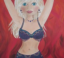 Belly Dancer by Kristy Spring-Brown