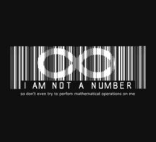 not a number.. so don't even try by Octochimp Designs