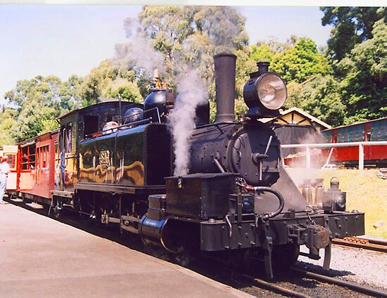 Black Puffing Billy 8A by Guyzimij