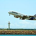 Airbus A380 Maiden Flight From Down Under by Raoul Isidro