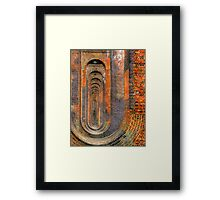 Balcombe Viaduct  Pierced Piers North - HDR Framed Print