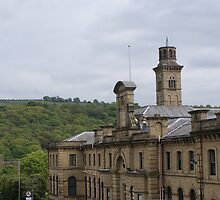 Salts Mill, Saltaire, Shipley, W Yorkshire, UK by Sandra Cockayne