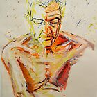 Life drawing paul by Gema Sharpe