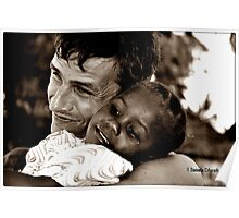 Ebony & Ivory Poster