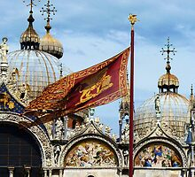Feast of the Senza, Basilica San Marco and The Lion of Venice! by artfulvistas