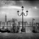 Lovers in Venice by Laurent Hunziker