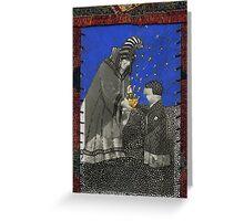 Kublai Khan and his Nurse Greeting Card