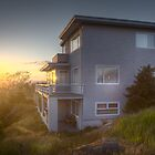 House in the sunset light by Andrey Popov