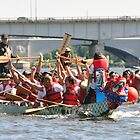Dragon Boat Race Plate # 36 by Matsumoto