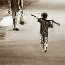 Boys & Sticks by Trish Woodford