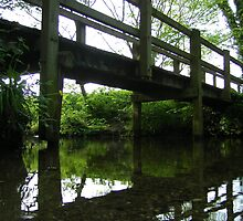 the bridge at the ford, polstead by uncleblack