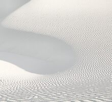 White Sands Abstract by Mitchell Tillison