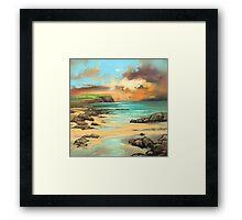Skye Cliff Framed Print