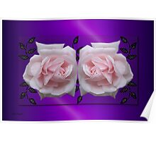 Gentle Touch .. Enchanting Roses Poster