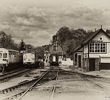 Cheddleton Station by David J Knight