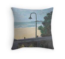 St Kilda Beach Throw Pillow