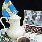 Swedish royal wedding chocolates with coffee by Paola Svensson