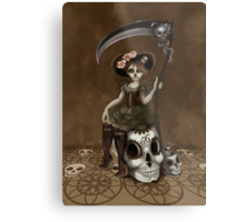 Girl 56 | Tarot Inspired Girl Metal Print
