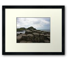 The Giant's Causeway Framed Print