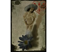 Your Love Is Safe In My Heart-COLLABORATION WITH ARTIST JD Photographic Print