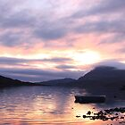 Sunset at Loch Assynt III by RFK C