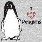 I Heart Penguins  by Charlotte Hertler
