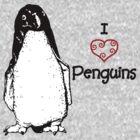I Heart Penguins  by Charlotte Hertler
