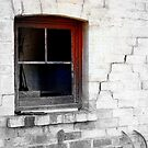 Rustic window. by Julie Sleeman