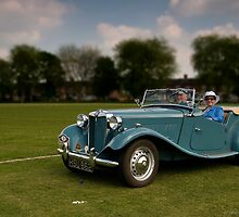 MG TD at Nantwich by David J Knight